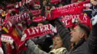 VÍDEO: até os adeptos adversários alinharam em momento mágico em Anfield
