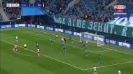 Champions: resumo do Zenit-Leipzig (0-2)