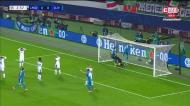 VÍDEO: livre de Ronaldo e frango enorme do guarda-redes do Lokomotiv