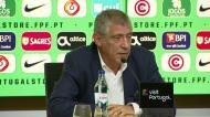 Fernando Santos comenta lesão grave de André Gomes
