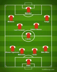 Onzes Prováveis para a 11.ª Jornada da Liga