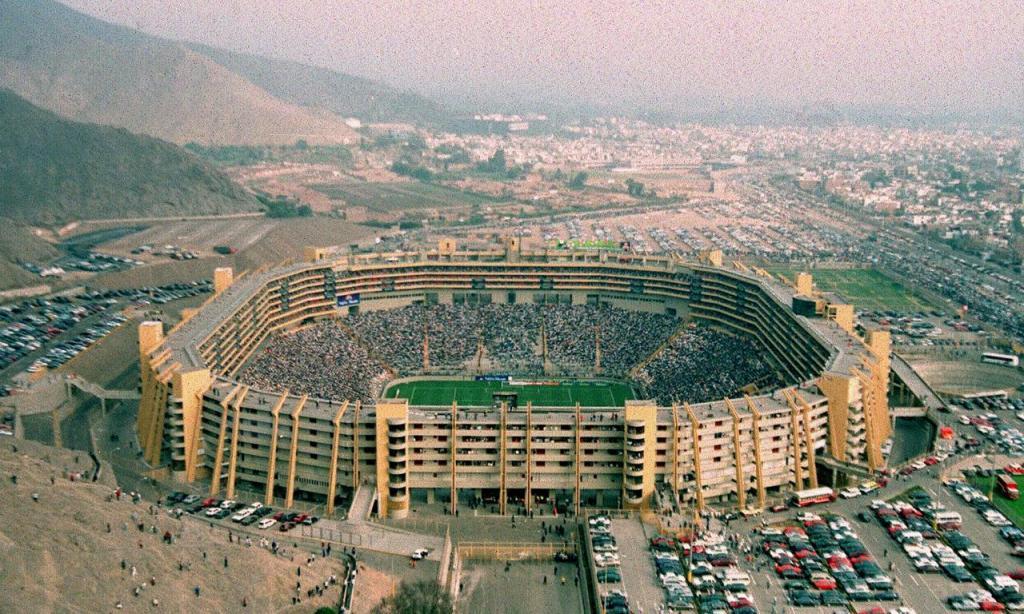 Estádio Monumental Lima, Peru (AP)