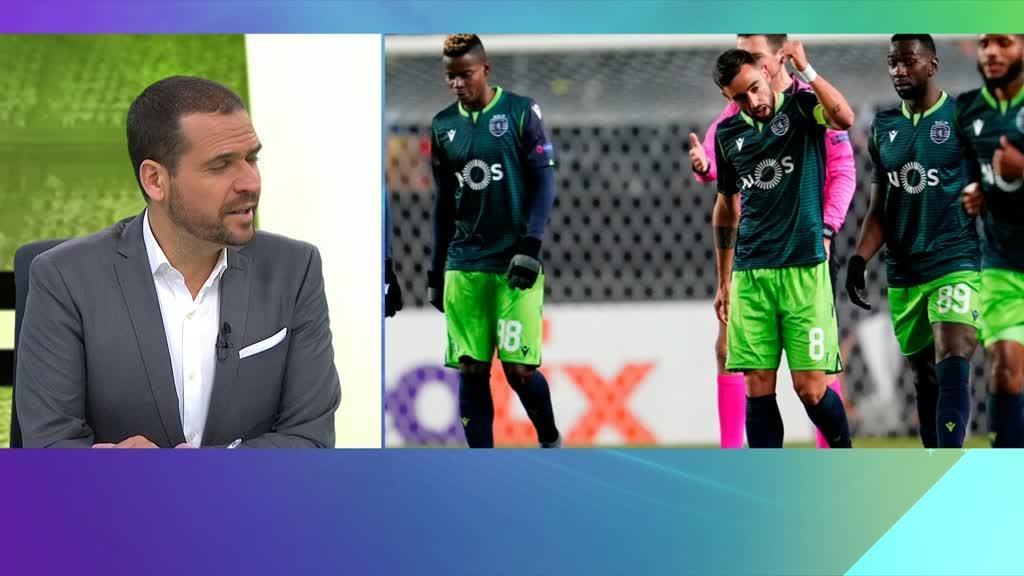 Rui Pedro Braz analisa vitoria europeia do Sporting - TVI24
