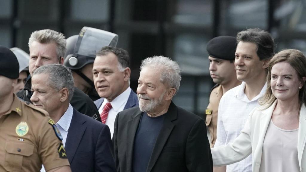 Lula da Silva libertado da prisão