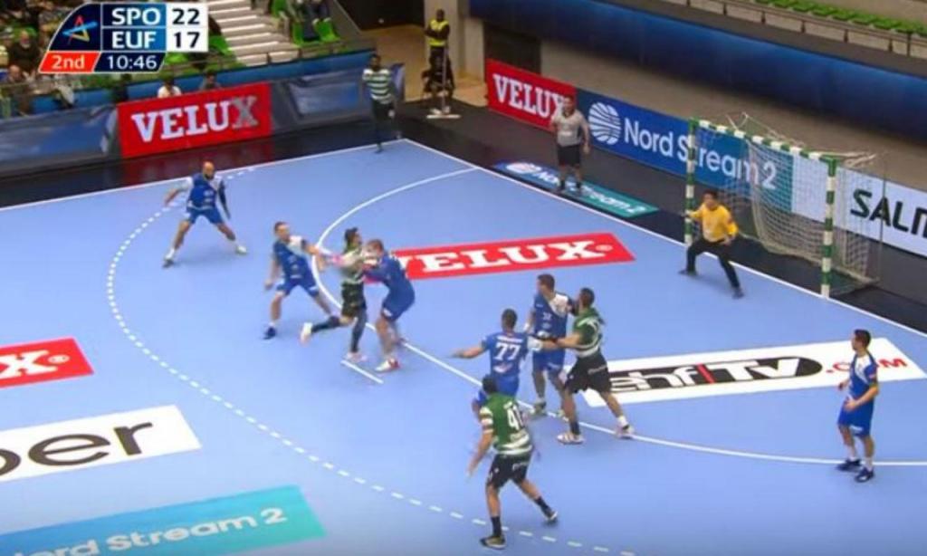 Golo do sportinguista Carlos Ruesga (youtube EFH TV)
