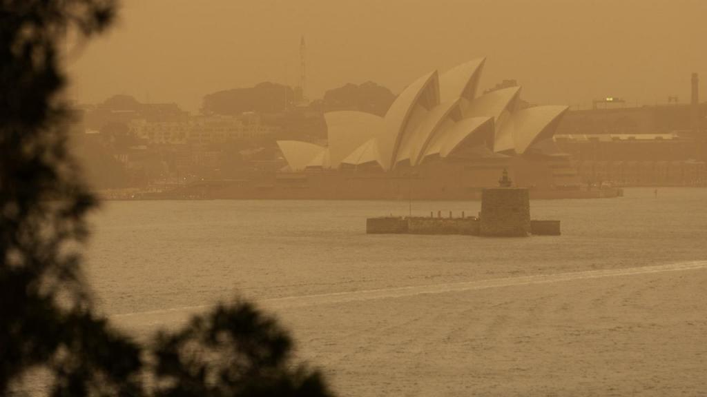 Fogos aproximam-se de Sydney