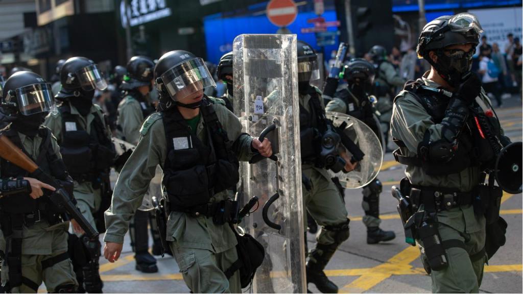 Confrontos em Hong Kong