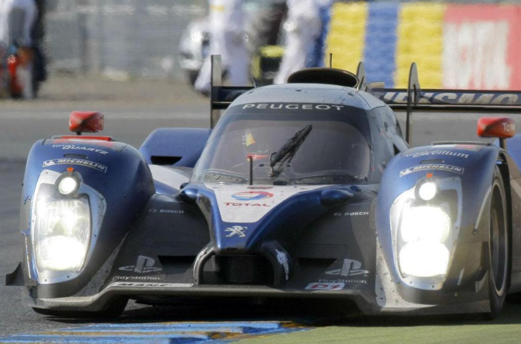 Peugeot nas 24 Horas de Le Mans em 2011