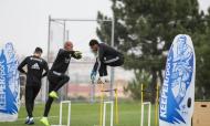 Treino do Benfica (fotos: Sport Lisboa e Benfica)