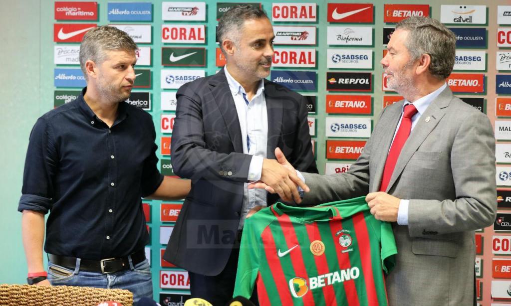 José Gomes é o novo treinador do Marítimo