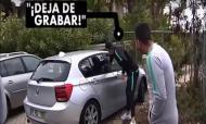 Cristiano Ronaldo tenta «roubar» telemóvel a casal