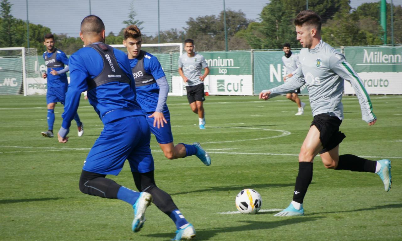 Sporting perde jogo-treino frente ao Estoril - Mais Futebol