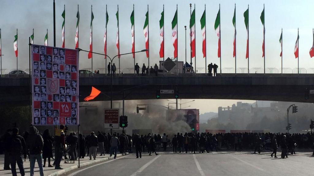 Protestos no Irão