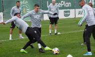 FOTOS: Sporting voltou ao trabalho