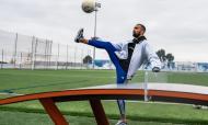 Raul Meireles e Bosingwa mostram Teqball no Olival (FC Porto)