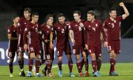 Letónia-Áustria (TOMS KALNINS/EPA)