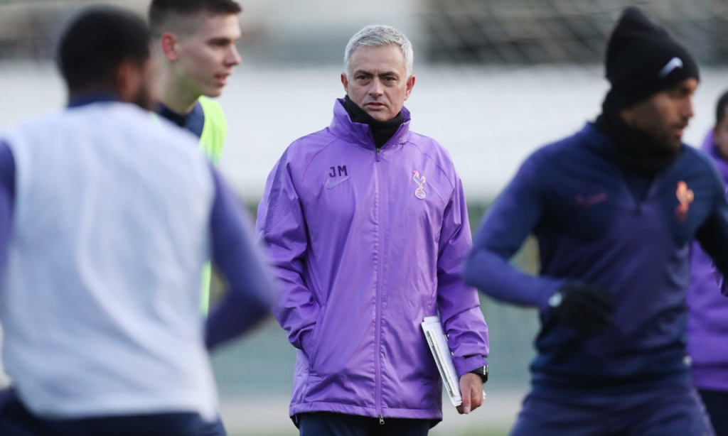José Mourinho (Twitter Tottenham)