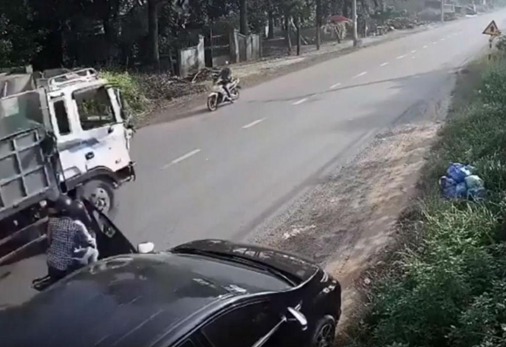 Acidente no Vietname (reprodução «YouTube»)