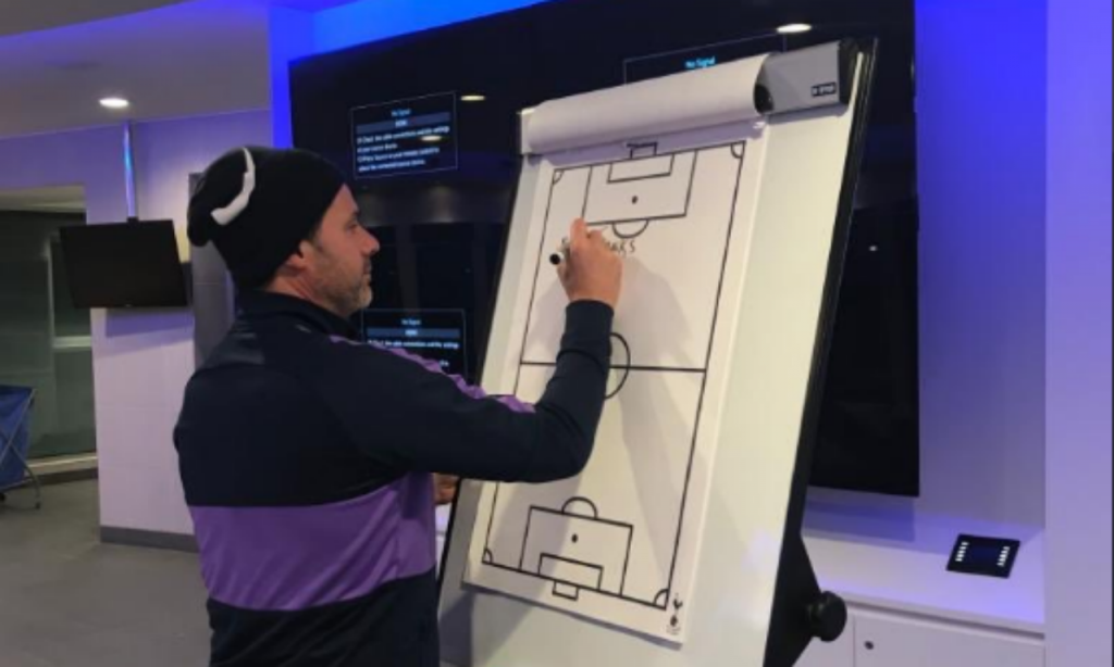 Mauricio Pochettino despede-se do Tottenham (Twitter Jesus Pérez)