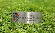 Placas do Flamengo-River Plate