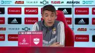 Lage lembra palavras de Seferovic para falar de Raúl de Tomás