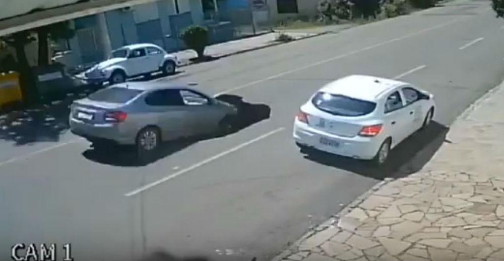 Acidente no Brasil (Reprodução Youtube)