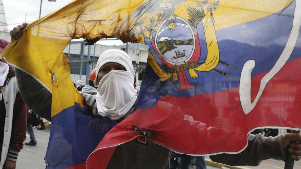 Protestos na Colômbia