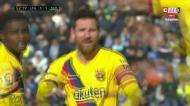 Suárez empata para o Barcelona após assistência de Messi
