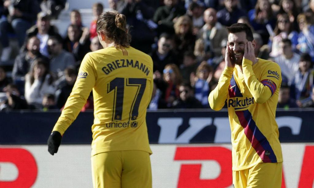 Leganés-Barcelona (AP Images)