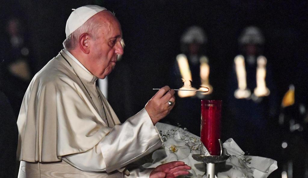 Papa Francisco em visita ao Japão
