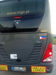 Autocarro do Sporting