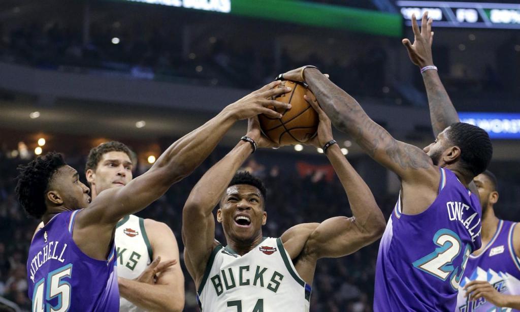 Milwaukee Bucks-Utah Jazz (AP)