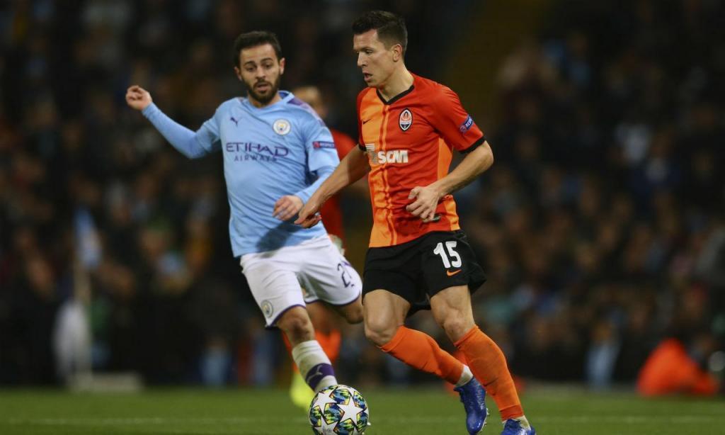 Manchester City-Shakhtar Donetsk (AP Images)