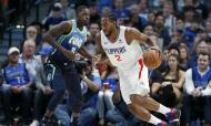 Dallas Mavericks-Los Angeles Clippers (AP)