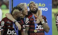 Tiki-taka de Jorge Jesus. No dia 1 de dezembro, no reencontro com o Palmeiras que tinha sido o maior rival na luta pelo título, o Flamengo vence fora de casa por 3-1. O primeiro golo torna-se viral: a equipa fez 32 passes, até Gerson isolar Gabigol, que assistiu De Arrascaeta para o golo.