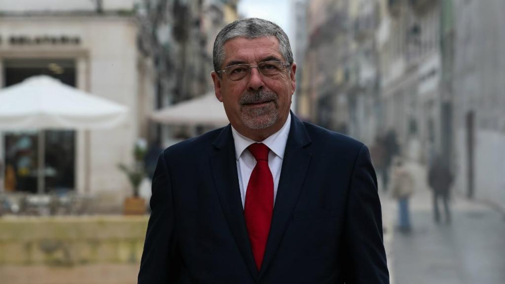 Presidente da Associação Nacional de Municípios Portugueses (ANMP), Manuel Machado