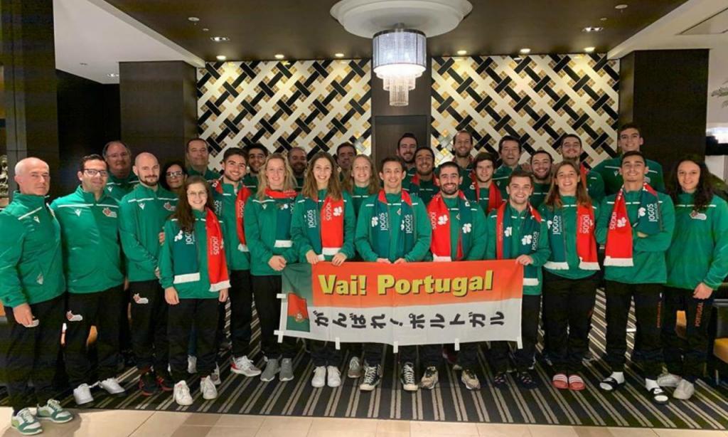 Equipa portuguesa presente nos Mundiais de Trampolins em Tóquio (Federação Ginástica)