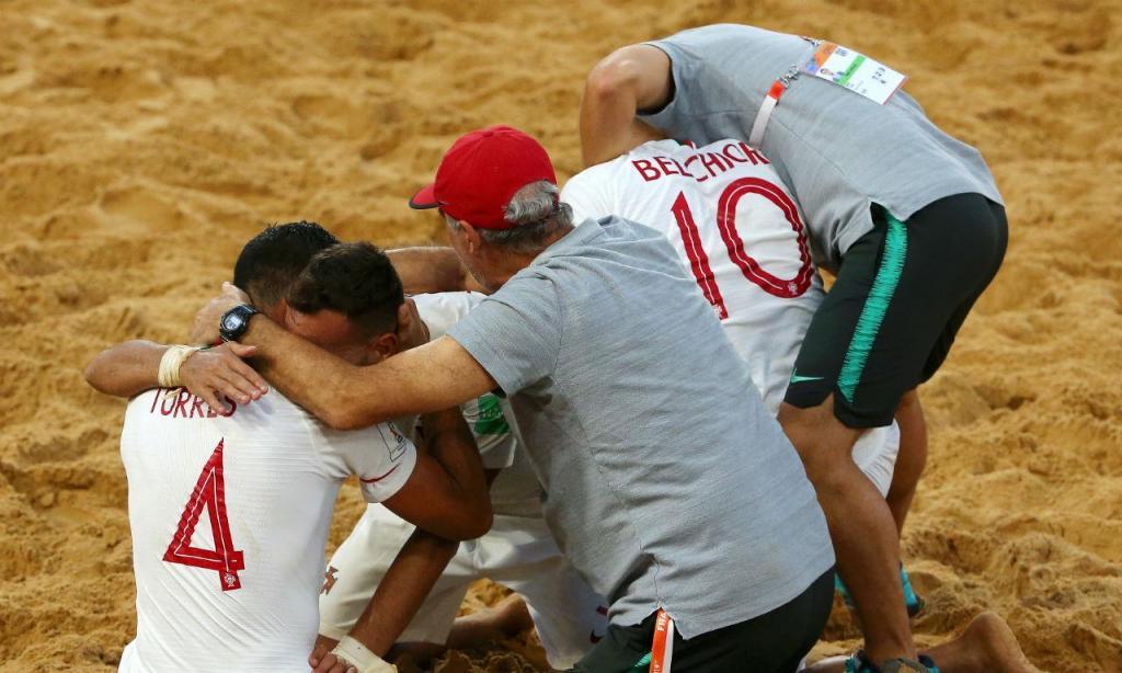 Portugal campeão mundial futebol de praia