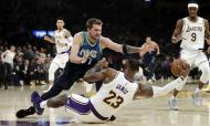 Los Angeles Lakers-Dallas Mavericks (AP Photo/Marcio Jose Sanchez)
