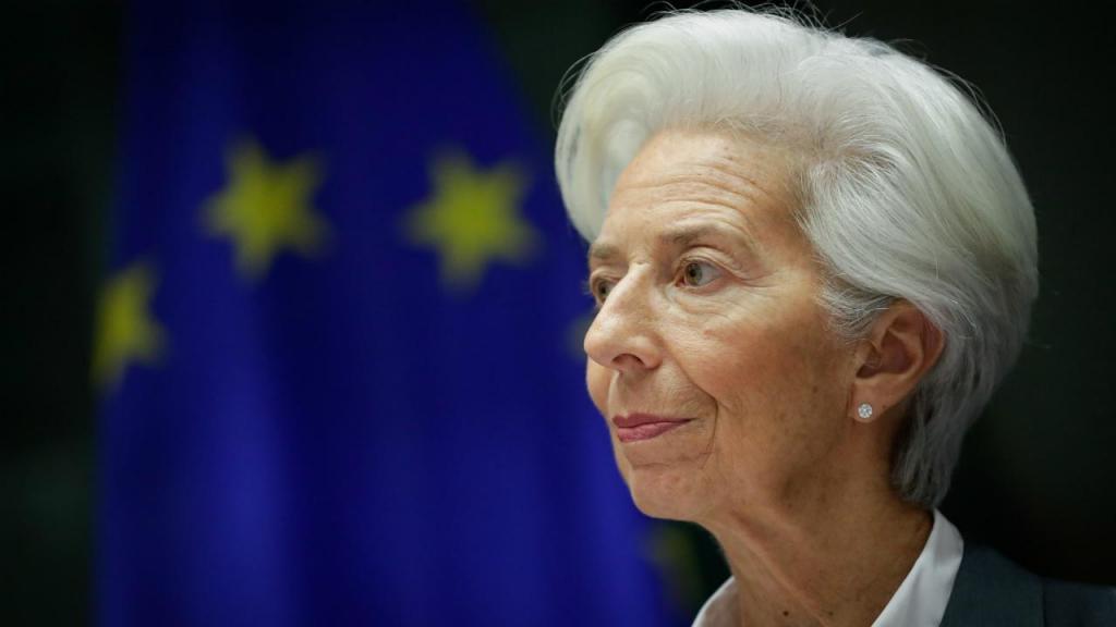 Christine Lagarde no Parlamento Europeu