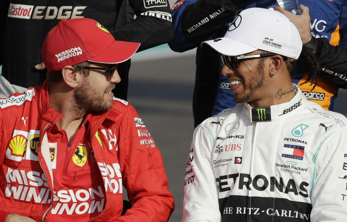 Sebastian Vettel e Lewis Hamilton (Associated Press)