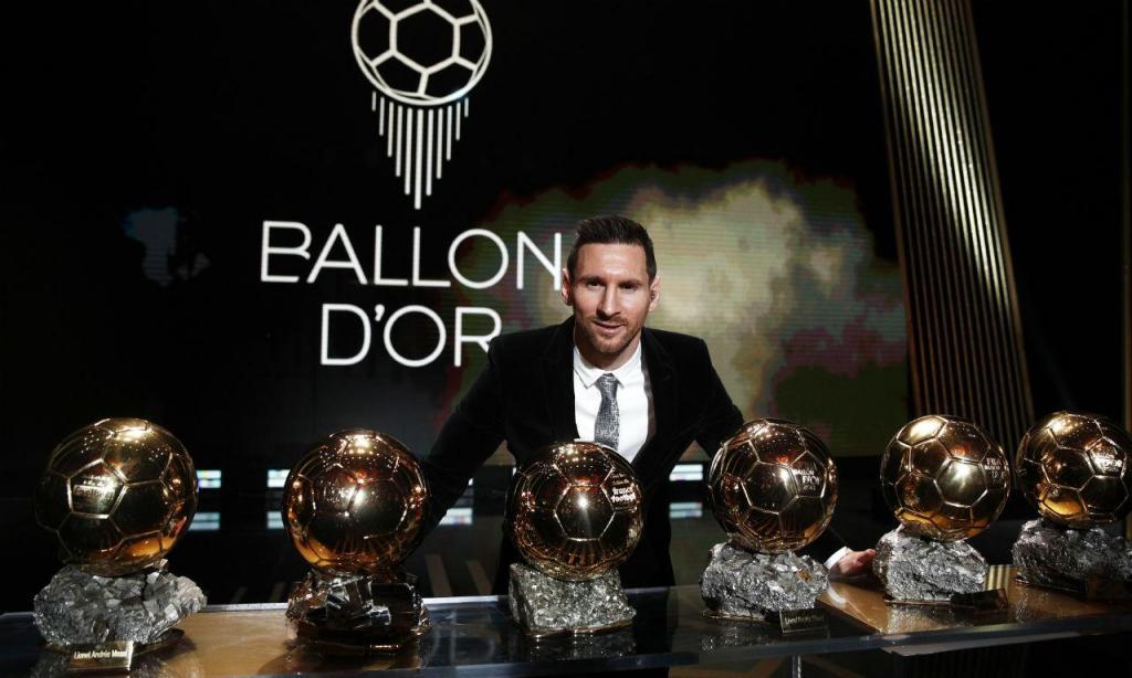 Messi Bola de Ouro