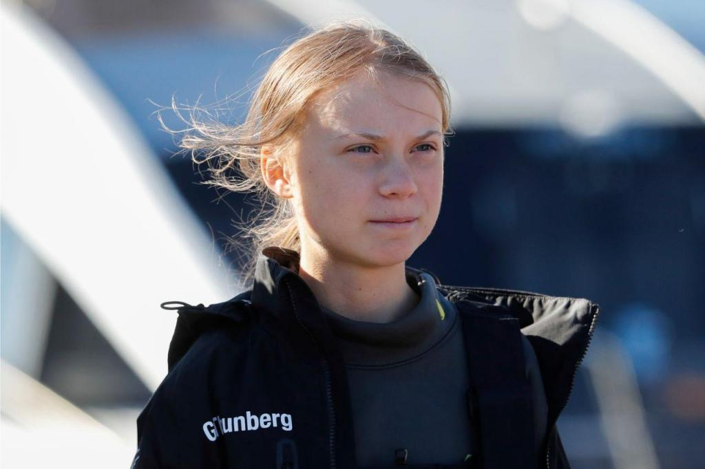 Greta Thunberg chega a Portugal