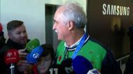 Futebol de praia: seleção campeã do mundo chega a Lisboa