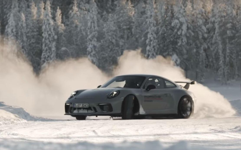 Porsche Ice Experience (reprodução YouTube)