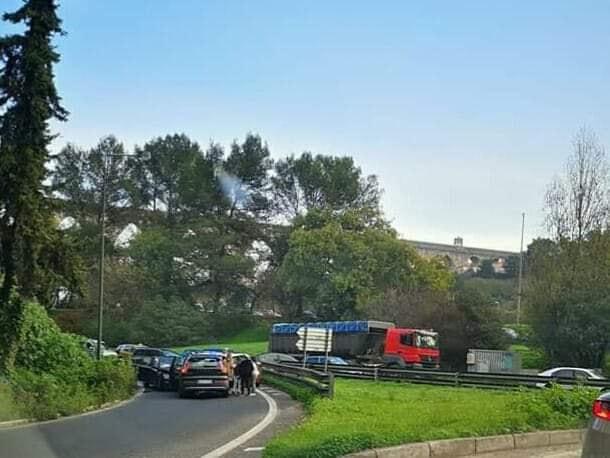 Acidente na A5 em Lisboa