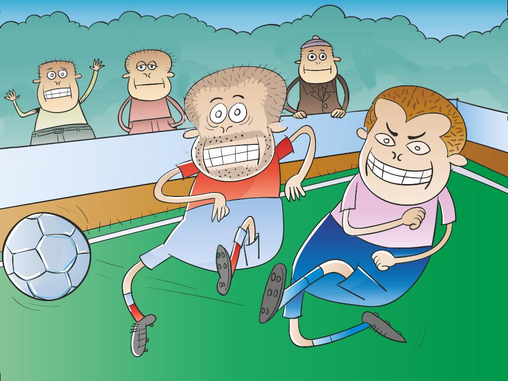 Futebol entre amigos