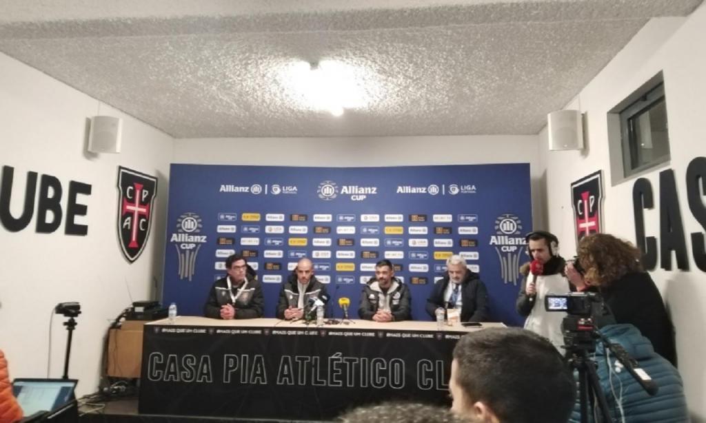 Sérgio Conceição e Rui Duarte