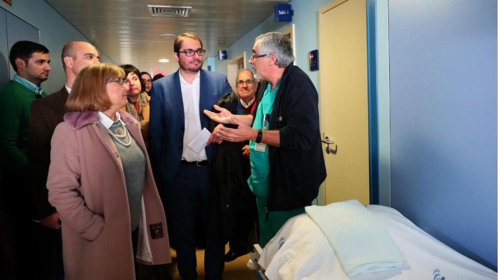 Bancada parlamentar do PCP visitou Hospital do Espírito Santo, em Évora