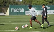 Sporting continua a preparar receção ao Moreirense (treino: SCP)